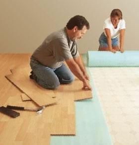Laminate Flooring Underlayment Installation